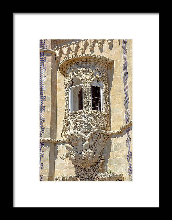 Sintra Framed Print featuring the photograph Architecture Background Sintra by Benny Marty