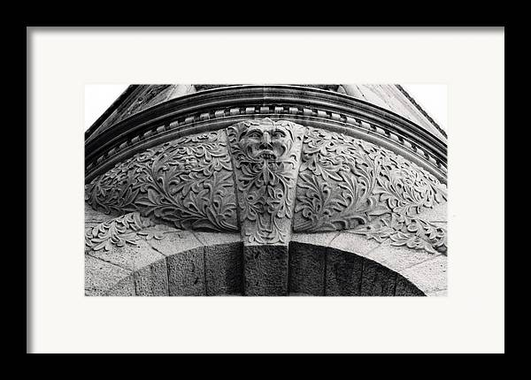 Canada Framed Print featuring the photograph Archway In Old Montreal by Henry Krauzyk