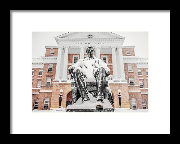 Abraham Lincoln Framed Print featuring the photograph Arctic Abe by Todd Klassy