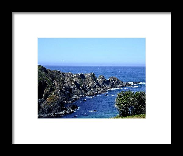 Arena Framed Print featuring the photograph Arena Point California by Douglas Barnett