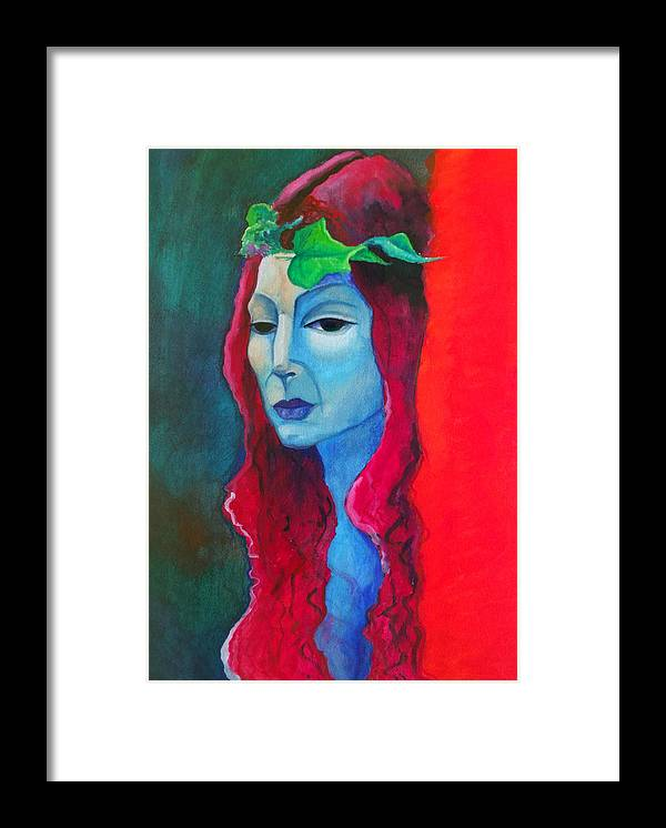 Goddess Framed Print featuring the painting Ariadne by Erika Brown