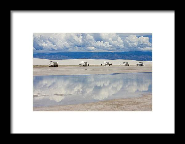 New Mexico Framed Print featuring the photograph Armageddon Picnic by Skip Hunt