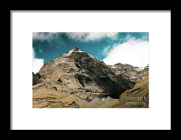 Tibet Framed Print featuring the photograph Around Holy Kailas Himalayas Tibet Yantra.lv by Raimond Klavins