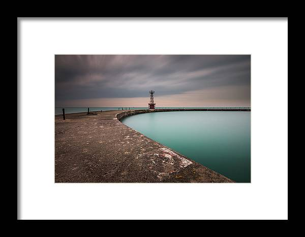 Chicago Framed Print featuring the photograph Around The Aqua by Josh Eral
