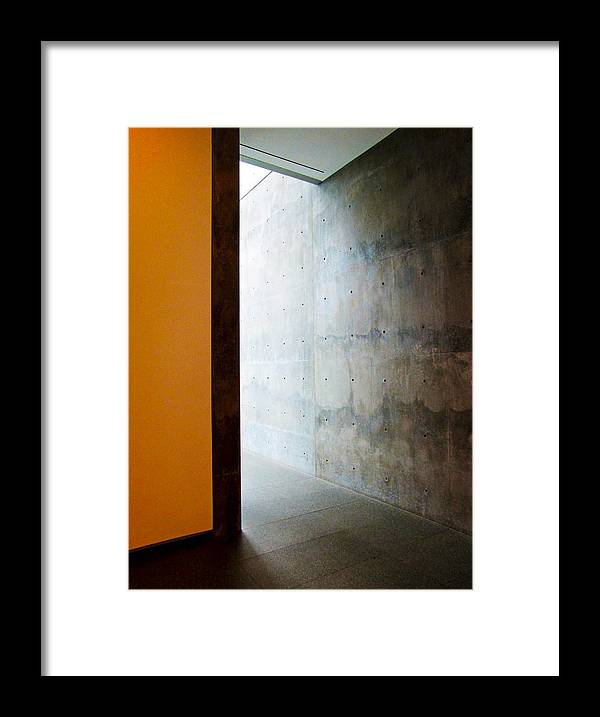 Architecture Framed Print featuring the photograph Around The Corner by Slade Roberts