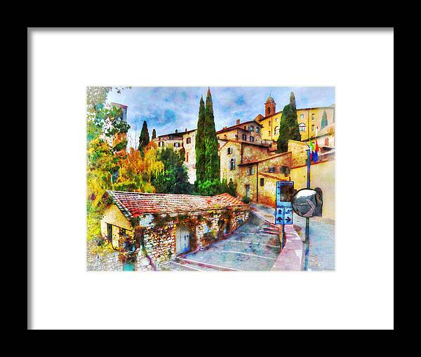Steps Framed Print featuring the photograph Arrival by Darin Williams