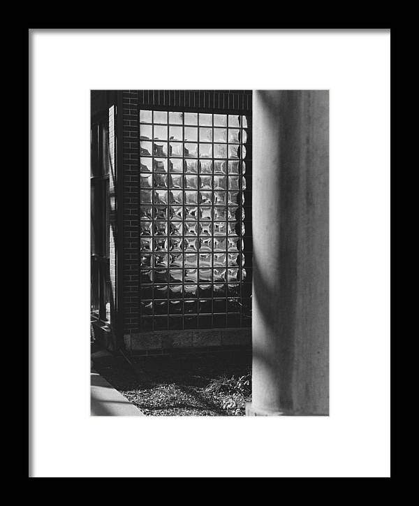 Light Framed Print featuring the photograph Art And Design Center Northeast Entrance by Jim Furrer