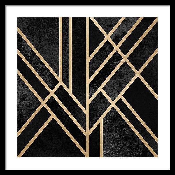Art Deco Black by Elisabeth Fredriksson