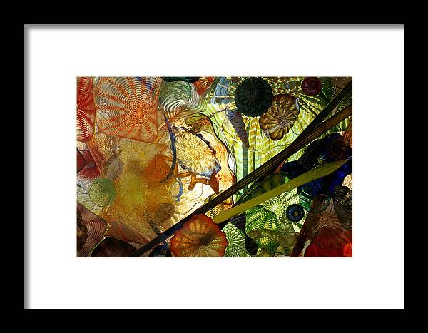Art Glass Framed Print featuring the photograph Art Glass by Sonja Anderson