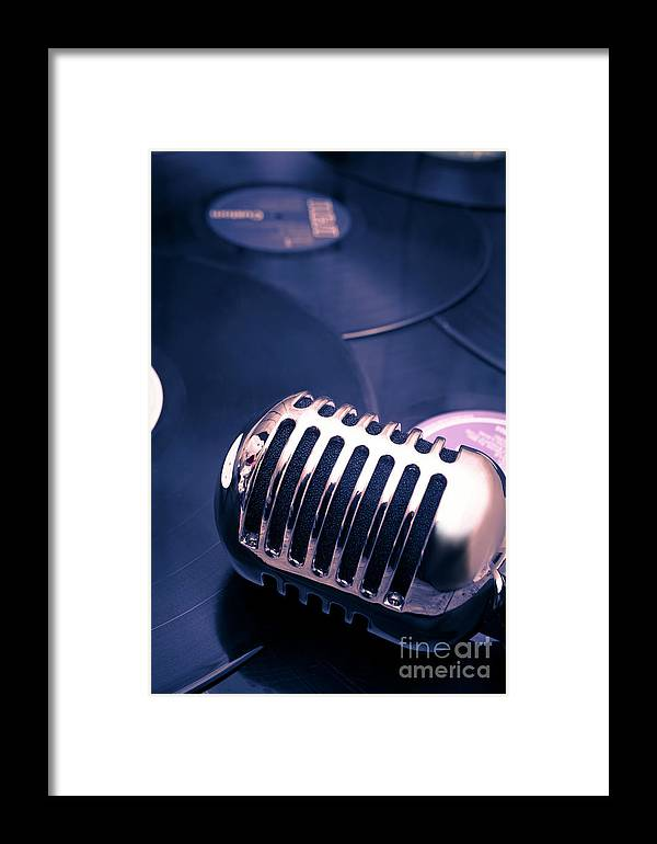 Broadcast Framed Print featuring the photograph Art Of Classic Communication by Jorgo Photography - Wall Art Gallery