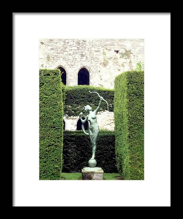 Photograph Framed Print featuring the photograph Artemis by Nicole Parks