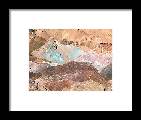 Nature Framed Print featuring the photograph Artist Palette by William Thomas