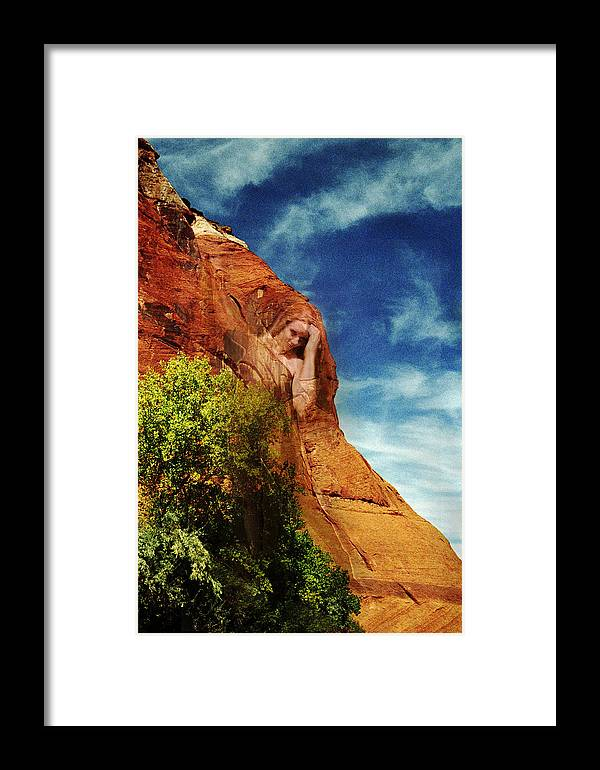 Artist Point Framed Print featuring the photograph Artist Point Muse by Richard Henne