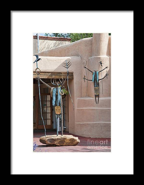 Santa Fe Framed Print featuring the photograph Artistic Santa Fe by Brenda Kean