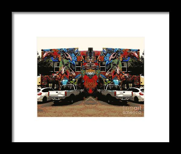 Framed Print featuring the photograph Artistry Abounds by Kelly Awad