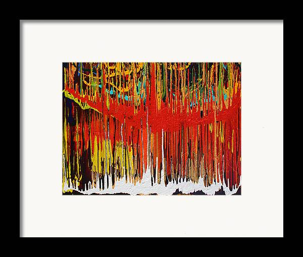Fusionart Framed Print featuring the painting Ascension by Ralph White