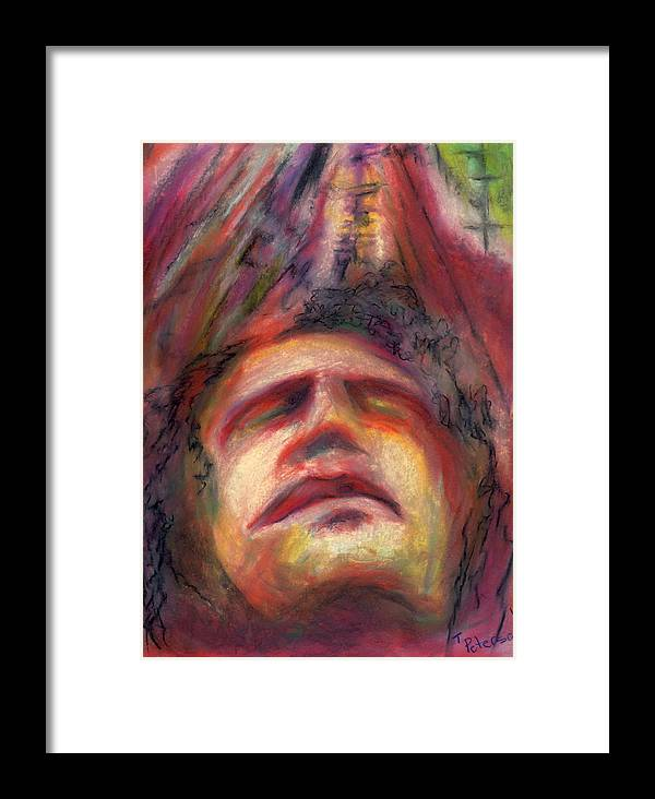 Crayon Framed Print featuring the painting Ascension by Todd Peterson