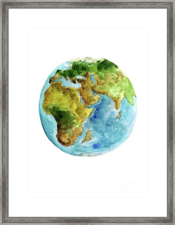 Painting Globe Art