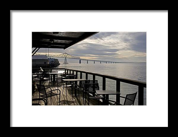 Scenic Framed Print featuring the photograph Astoria by Lee Santa