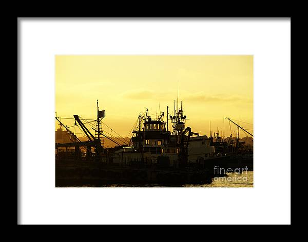 San Diego Framed Print featuring the photograph At Days End by Linda Shafer