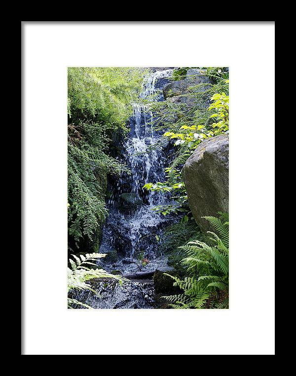 Landscape Framed Print featuring the photograph At Peace With Nature by Sonja Anderson