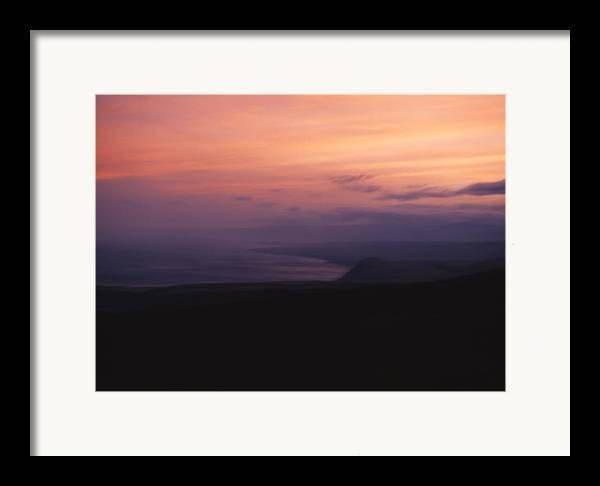 Sunset Framed Print featuring the photograph At Sundown by Ayesha Lakes