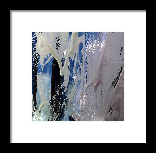 Car Wash Framed Print featuring the photograph At The Car Wash 15 by Marlene Burns