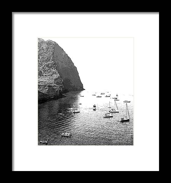 Pollara Framed Print featuring the digital art At The Crater by Ayesha DeLorenzo