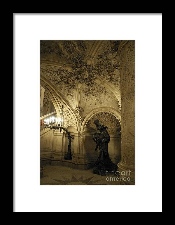 Paris Framed Print featuring the photograph At The Opera by Louise Fahy