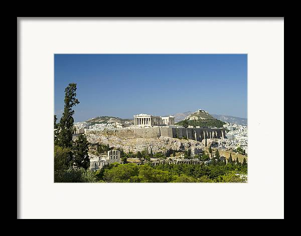 Athens Framed Print featuring the photograph Athens by Julia Bridget Hayes