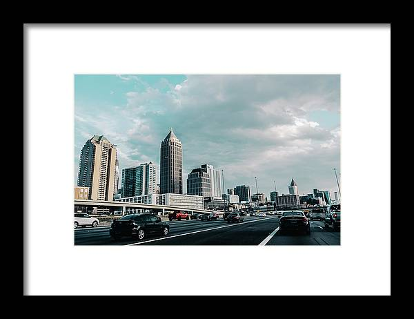Atlanta Framed Print featuring the photograph Atlanta Georgia by Andrea Anderegg