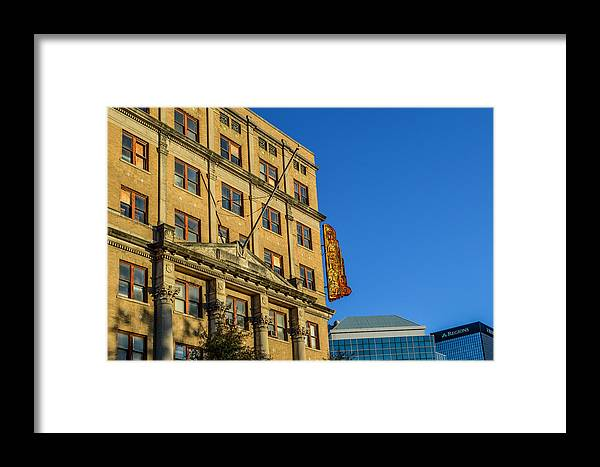 Birmingham Framed Print featuring the photograph Atlanta Life Sign In Birmingham Alabama by Michael Thomas