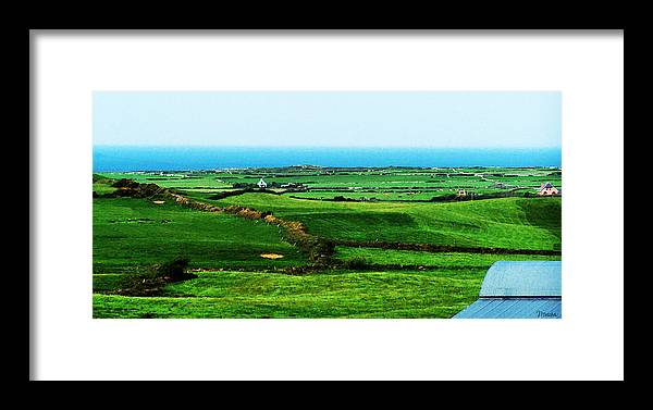 Ireland Framed Print featuring the photograph Atlantic View Doolin Ireland by Teresa Mucha
