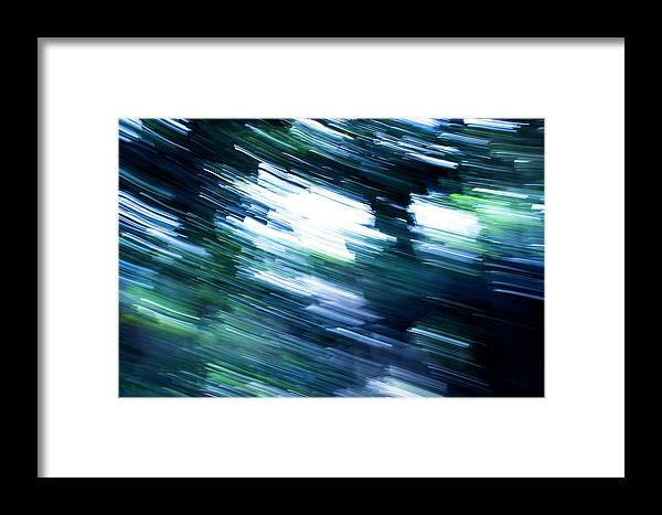 Abstract Framed Print featuring the photograph Atmosphere by Alexis Harris