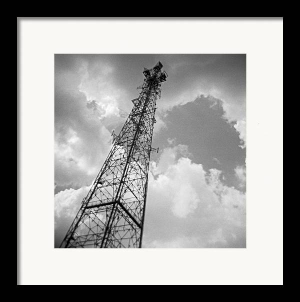 Holga Framed Print featuring the photograph Atmospheric Inflection by Steve Parrott