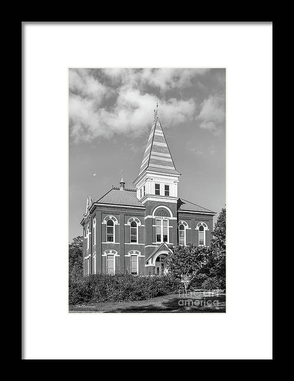 Auburn University Framed Print featuring the photograph Auburn University Hargis Hall by University Icons