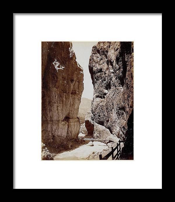 Sommer Framed Print featuring the painting Aufnahmen Mit Ansichten Und Sehenswrdigkeiten by Giorgio