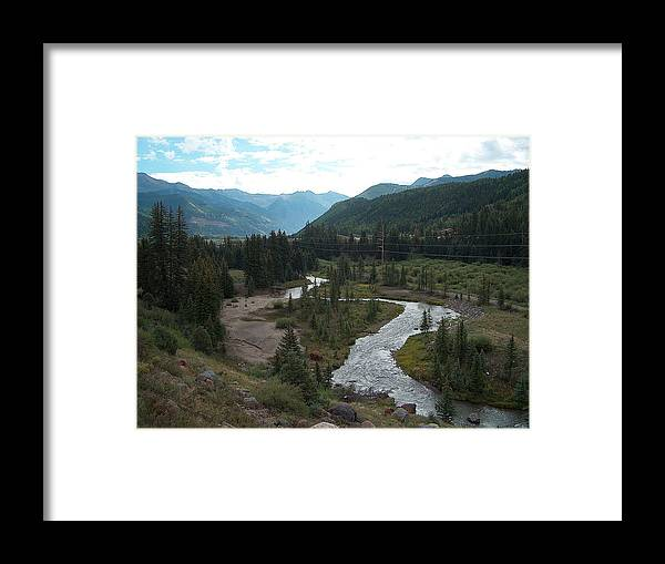 Landscape Framed Print featuring the photograph August In Colorado by Janet Hall