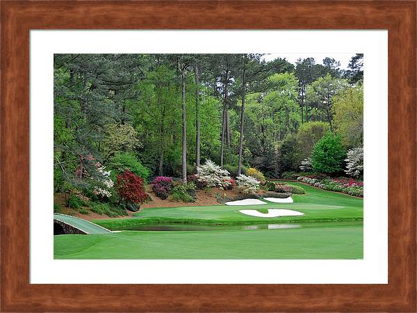 Augusta National The Masters 12th Hole Golf Best Course by Peter Nowell