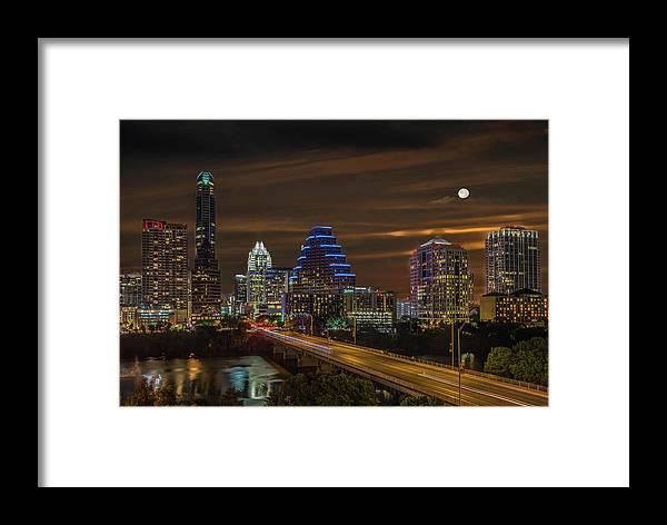 Skyline Framed Print featuring the photograph Austin, Texas by Jim Allen