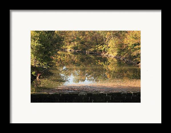 Landscape Framed Print featuring the photograph Autumn Afternoon by Lone Dakota Photography