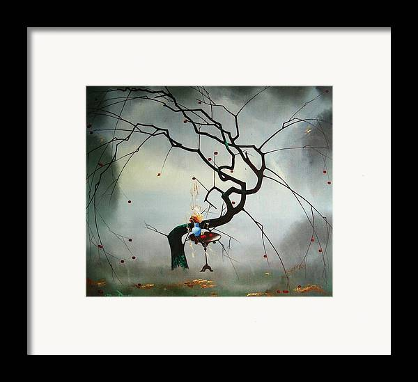 Still Life Framed Print featuring the painting Autumn by Andrej Vystropov