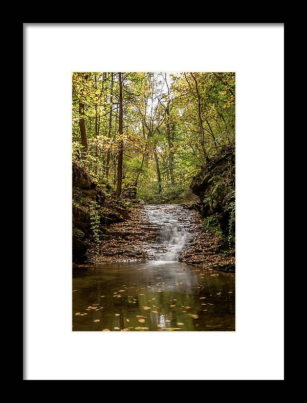 Autumn Framed Print featuring the photograph Autumn At Mill Creek by Travis Boyd