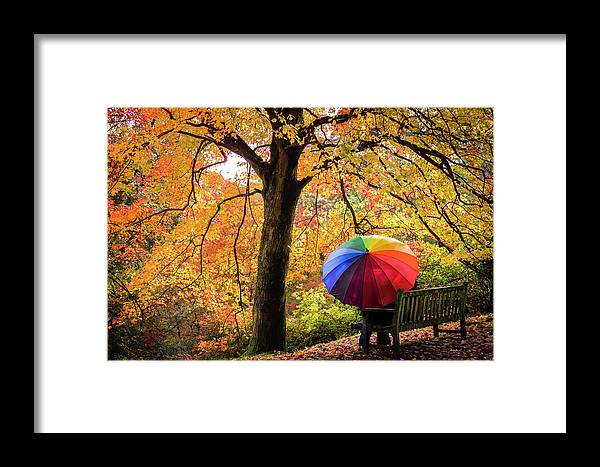 Autumn Framed Print featuring the photograph Autumn Colours by Kelvin Trundle