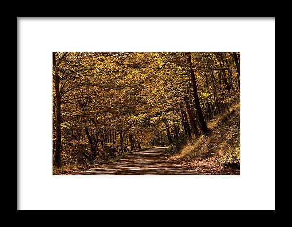 Landscape Framed Print featuring the photograph Autumn Colours by Nikos Stavrakas