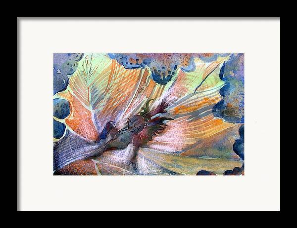 Fairy Framed Print featuring the painting Autumn Fairy by Mindy Newman