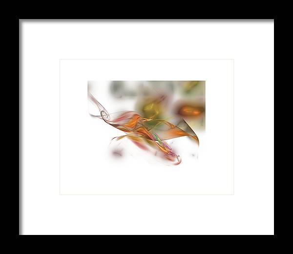 Autumn Framed Print featuring the digital art Autumn by Ilia