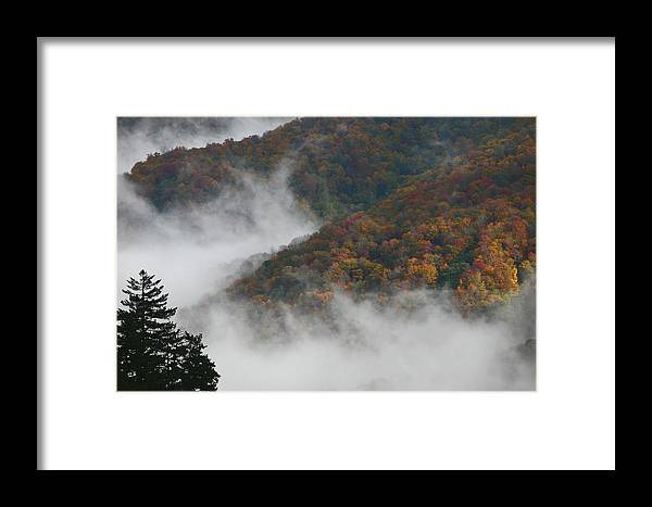 Scenery Framed Print featuring the photograph Autumn In The Mountains by James Jones