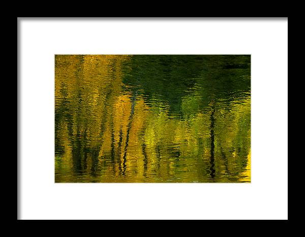 Water Framed Print featuring the photograph Autumn In Truckee by Donna Blackhall