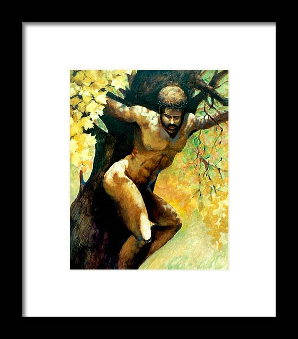 Fall Landscape Framed Print featuring the painting Autumn Of Life by Dale Witherow
